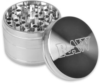 RAW Aluminium Grinder Silver