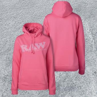RAW Girl Hoodie College Style Pink